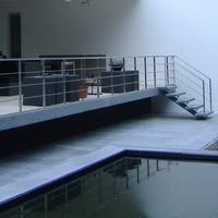 RVS hekwerk op balustrade 1