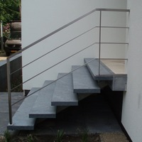 RVS hekwerk op trap