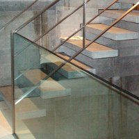 RVS-glas trapleuning